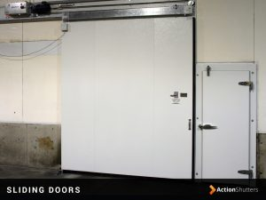 Horizontal sliding door installation in Birmingham